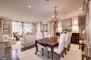 Dining Room Living Room Combo, Level 2 - 10869 SYMPHONY PARK DR, NORTH BETHESDA