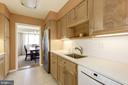 lots of counter space - 5100 DORSET AVE #505, CHEVY CHASE