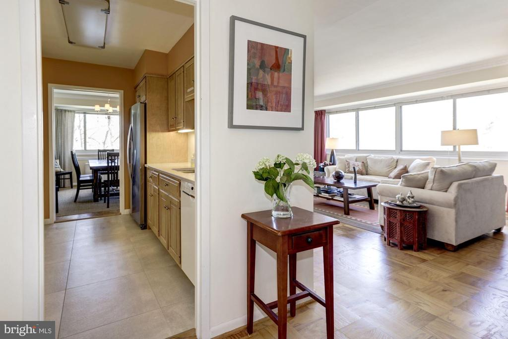 Open Layout - 5100 DORSET AVE #505, CHEVY CHASE
