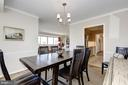 Big dining area - 5100 DORSET AVE #505, CHEVY CHASE