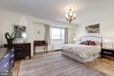 Big sunny master bedroom - 5100 DORSET AVE #505, CHEVY CHASE