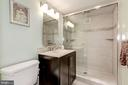 Second full bathroom tastefully remodeled - 5100 DORSET AVE #505, CHEVY CHASE