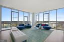 Breathtaking!  Spectacular panoramic views. - 930 ROSE AVE #PH2102, ROCKVILLE