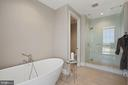 Owner's bath - 930 ROSE AVE #PH2102, ROCKVILLE