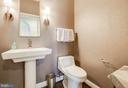Powder room - 20076 INVERNESS SQ, ASHBURN