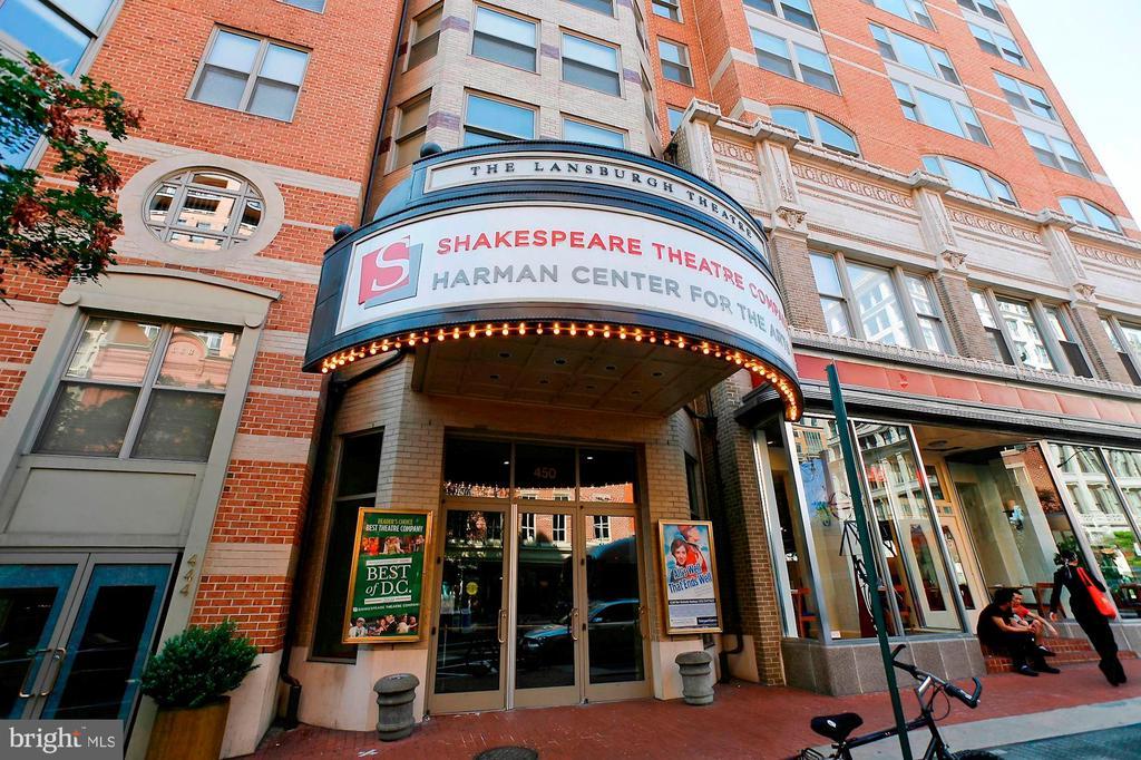Shakespeare Theater Nearby - 912 F ST NW #1106, WASHINGTON