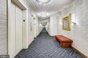 New Hallway to be on 4th floor  2020 - 4550 N PARK AVE #412, CHEVY CHASE