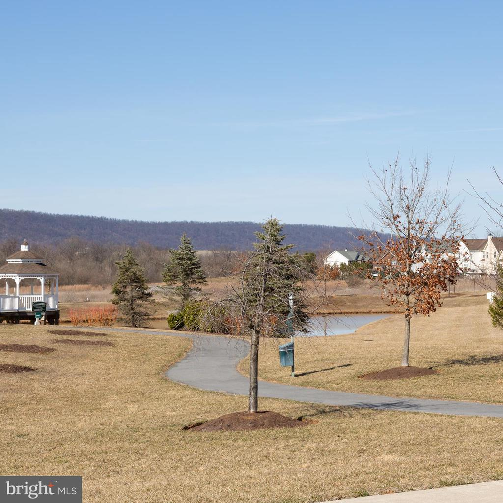 Paved walking trials  around the pond - 108 E. STATION TER., MARTINSBURG