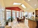 Spacious Sun Room overlooking the lake - 11519 GENERAL WADSWORTH DR, SPOTSYLVANIA