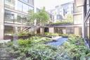 This is the courtyard that this condo overlooks - 925 H ST NW #707, WASHINGTON