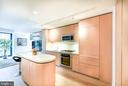 Gourmet kitchen with island with breakfast bar - 925 H ST NW #707, WASHINGTON
