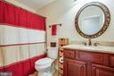 Upstairs Hall bath - 10408 LAUREL RIDGE WAY, FREDERICKSBURG
