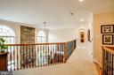 Walkway between Master and secondary bedrooms - 10408 LAUREL RIDGE WAY, FREDERICKSBURG