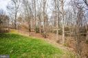 Lot to right of the house is unbuildable  trench - 10408 LAUREL RIDGE WAY, FREDERICKSBURG