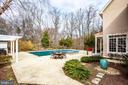 Completely private backyard - 10408 LAUREL RIDGE WAY, FREDERICKSBURG