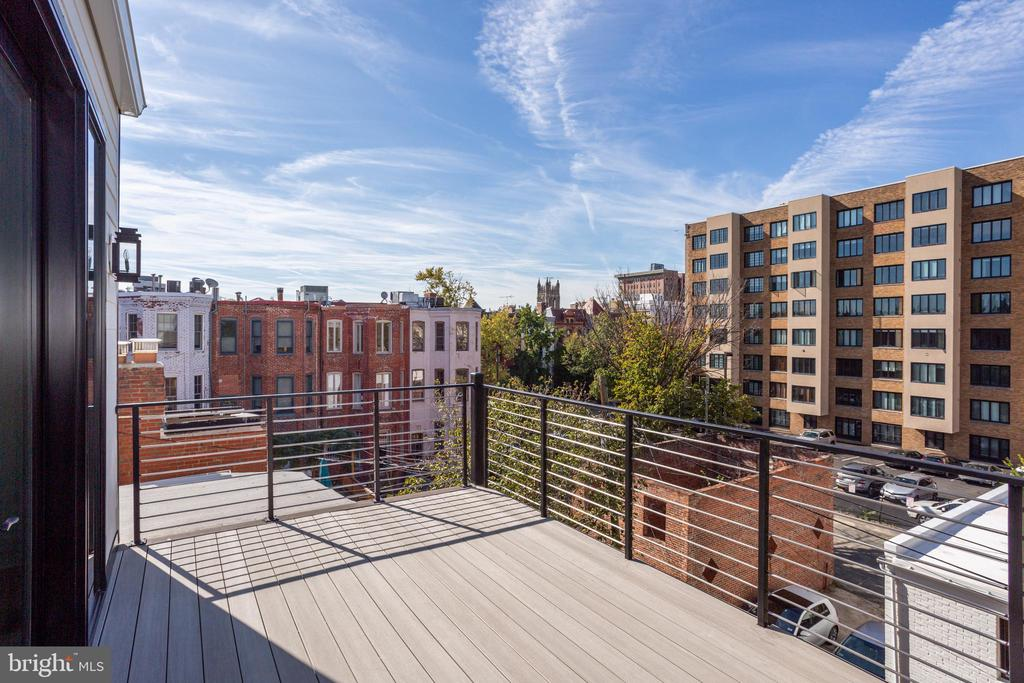 2nd west-facing deck - 1712 15TH ST NW #3, WASHINGTON