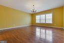 Views of Private Woods from Master - 15879 FROST LEAF LN, LEESBURG