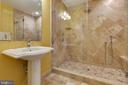Full Bath En Suite to Large Upper Level Bedroom - 15879 FROST LEAF LN, LEESBURG