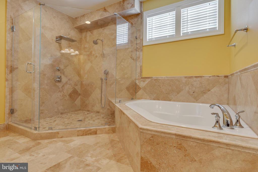 Luxury Shower & Soaking Tub - 15879 FROST LEAF LN, LEESBURG