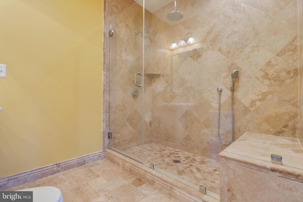 Full Bathroom in Lower Level - 15879 FROST LEAF LN, LEESBURG