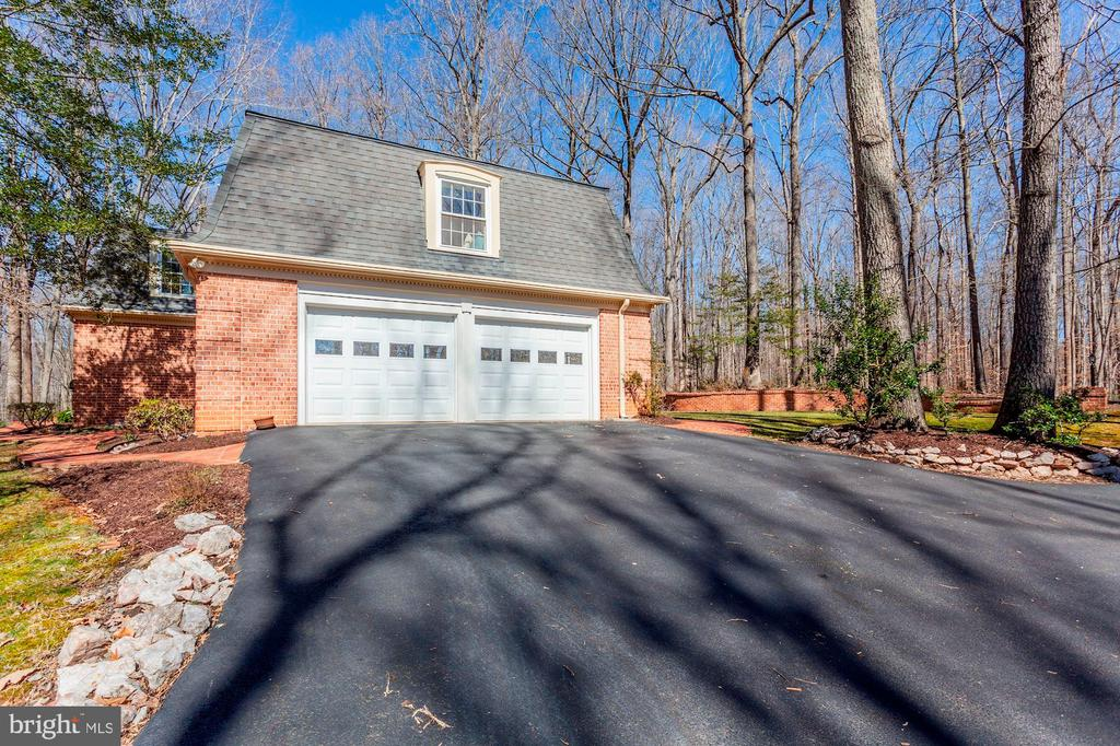 Two car attached garage. - 11726 WINTERWAY LN, FAIRFAX STATION