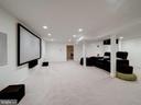 Lower Level Recreation Room - 7612 EXETER RD, BETHESDA