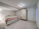 Lower Level Fifth Bedroom - 7612 EXETER RD, BETHESDA