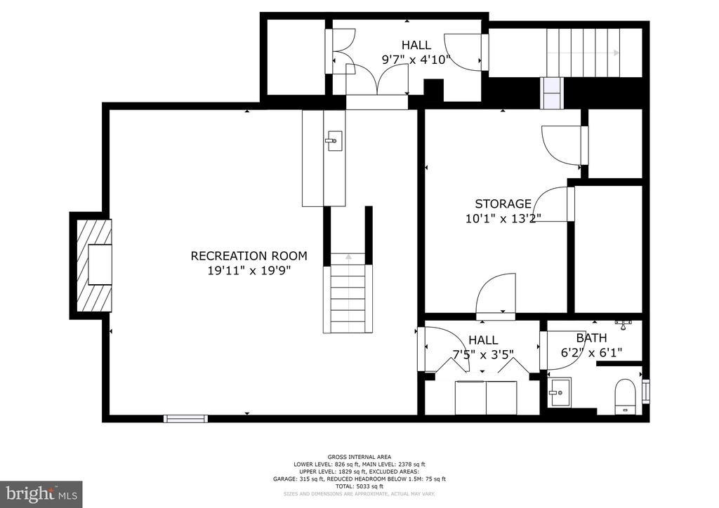 Floorplan - 9125 FERNWOOD RD, BETHESDA