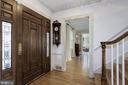 Foyer - 9125 FERNWOOD RD, BETHESDA
