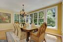 Breakfast Room - 9125 FERNWOOD RD, BETHESDA