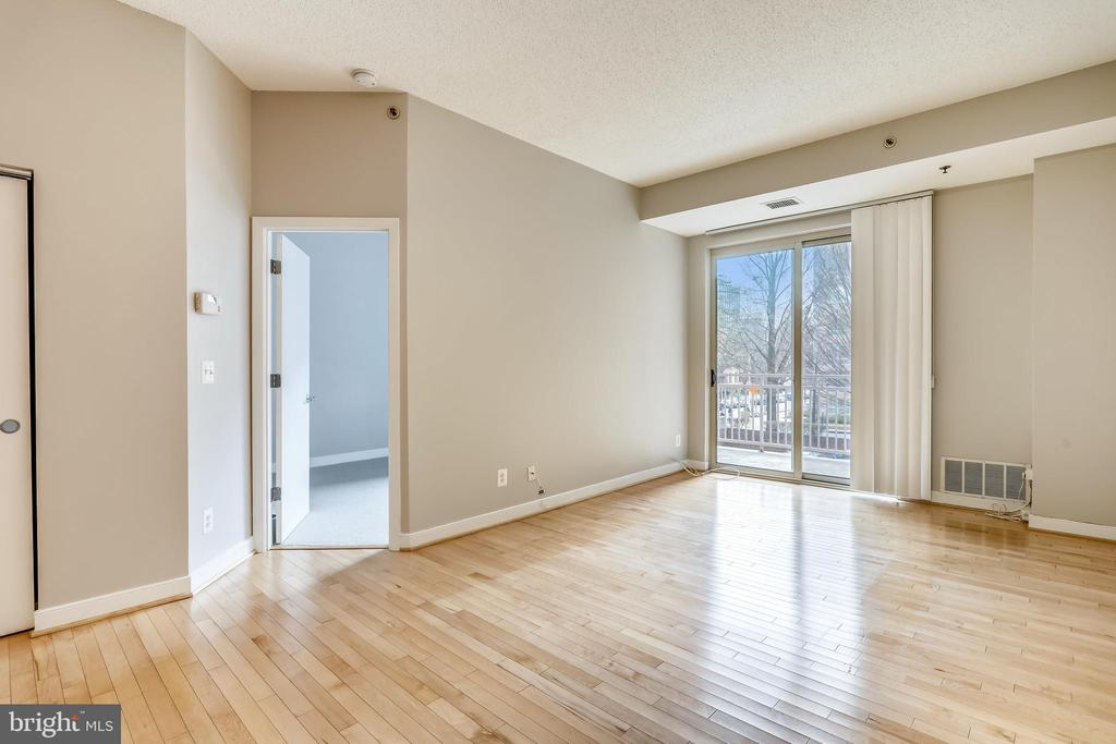 Living Room - 7500 WOODMONT AVE #S205, BETHESDA