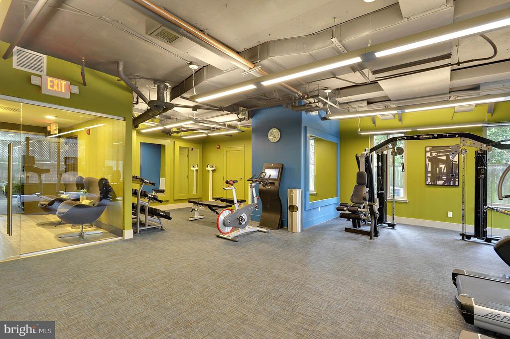 Fitness Center - 7500 WOODMONT AVE #S205, BETHESDA