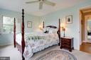 Master Bedroom on Upper Level - 2625 N QUANTICO ST, ARLINGTON