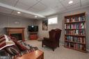 Recreation Room in Basement - 2625 N QUANTICO ST, ARLINGTON