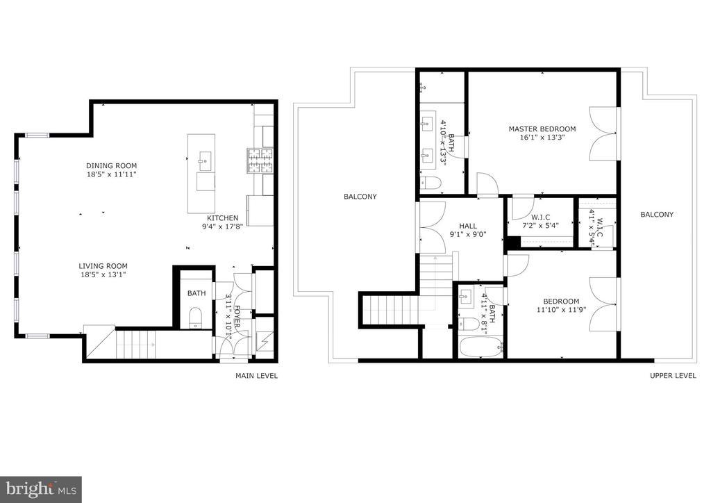 Floor Plan - 1821 I STREET NE #11, WASHINGTON
