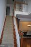 Stairs to bedrooms - 108 E. STATION TER., MARTINSBURG