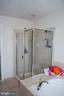 Master shower - 108 E. STATION TER., MARTINSBURG
