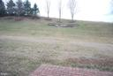 View from walk out basement - 108 E. STATION TER., MARTINSBURG