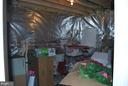 Unfinished part of basement - 108 E. STATION TER., MARTINSBURG