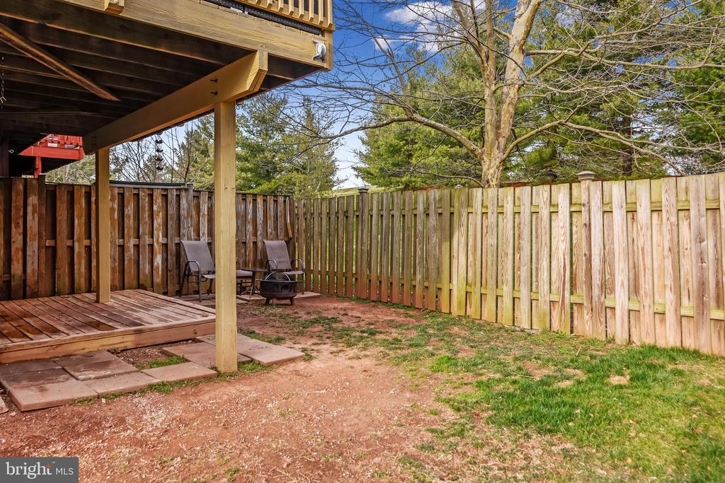 Fenced Backyard - 20766 APOLLO TER, ASHBURN