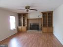 Freshly painted family room - 9337 S WHITT DR, MANASSAS PARK