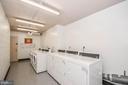 Shared Laundry Facilities - 5500 FRIENDSHIP BLVD #817N, CHEVY CHASE