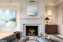 Fabulous Gas Fireplace - 1155 23RD ST NW #PH2C, WASHINGTON