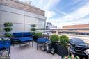 Inviting outside terrace - 1155 23RD ST NW #PH2C, WASHINGTON