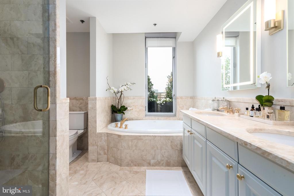 Master Bath - 1155 23RD ST NW #PH2C, WASHINGTON