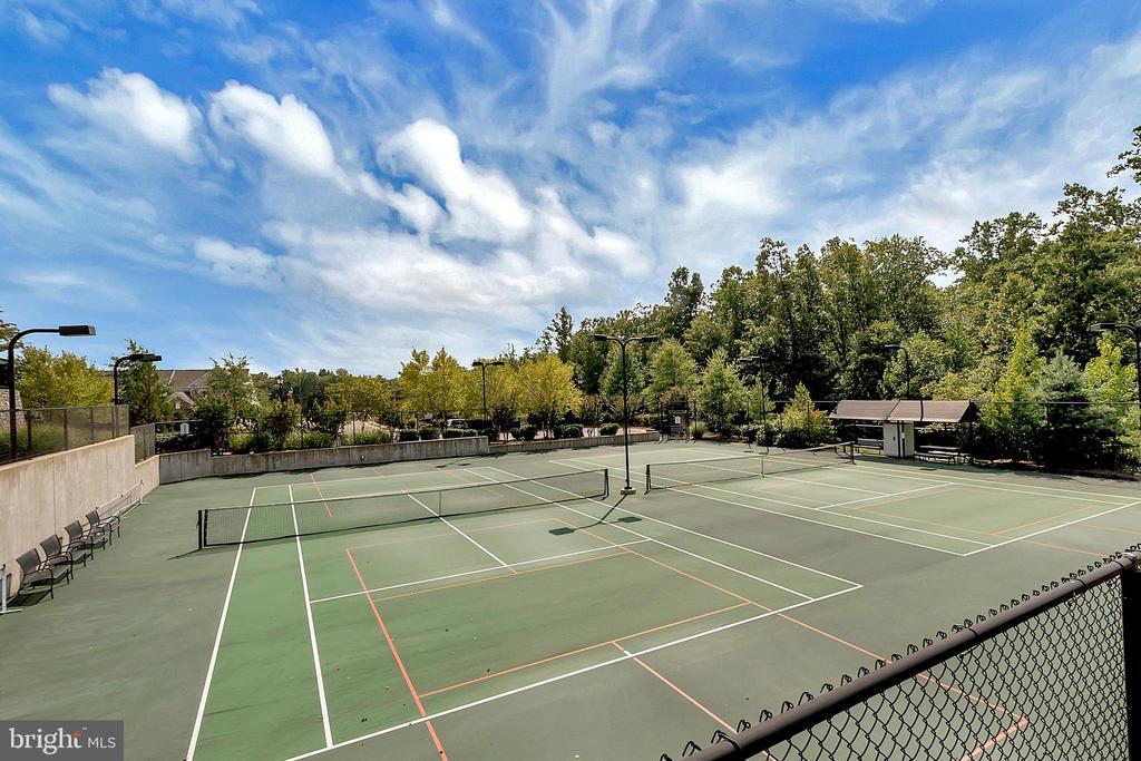 Tennis/pickle ball courts... - 29 LUDINGTON LN, FREDERICKSBURG
