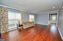 Gorgeous hardwood floors throughout the home. - 29 LUDINGTON LN, FREDERICKSBURG