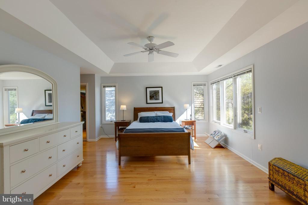 Large master bedroom w/double door entry - 11205 PAVILION CLUB CT, RESTON