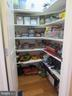 Walk-in pantry across from butler's pantry - 10623 LEGACY LN, FAIRFAX