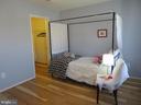 Bedroom 2 with walk-in closet - 10623 LEGACY LN, FAIRFAX
